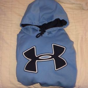 Light Blue Under Armour Hoodie